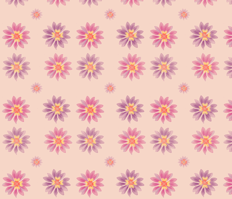 lilablommor fabric by snork on Spoonflower - custom fabric