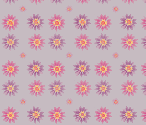 lilablommor2 fabric by snork on Spoonflower - custom fabric
