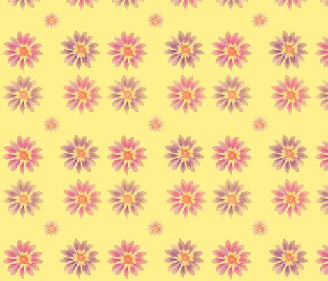 Purpleflowers1 fabric by snork on Spoonflower - custom fabric