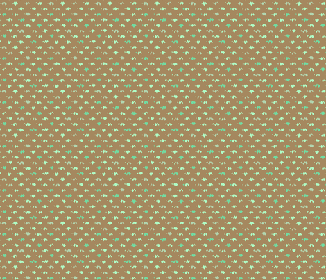 ziggy brown fabric by robinde on Spoonflower - custom fabric