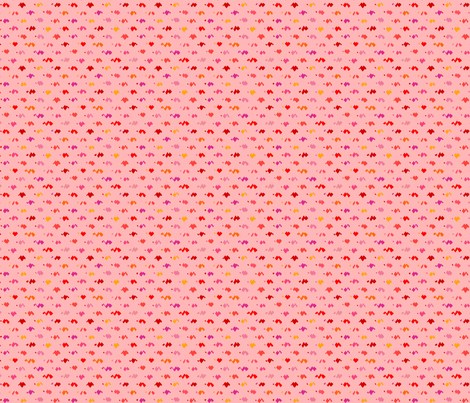ziggy pink fabric by robinde on Spoonflower - custom fabric