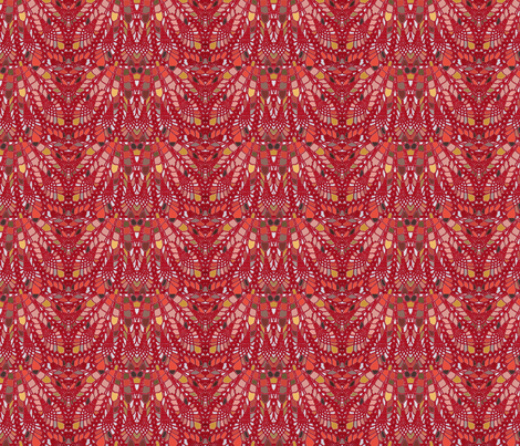 red_design fabric by silverspoon on Spoonflower - custom fabric