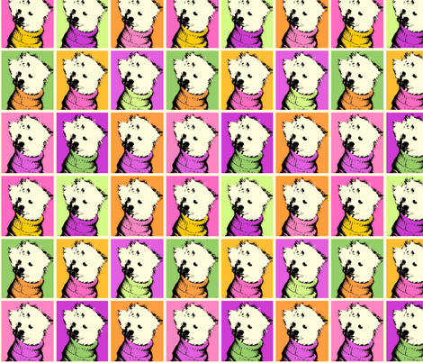 JessieWarhol fabric by tammikins on Spoonflower - custom fabric