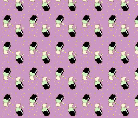 Li'l Frankette fabric by ljonte on Spoonflower - custom fabric