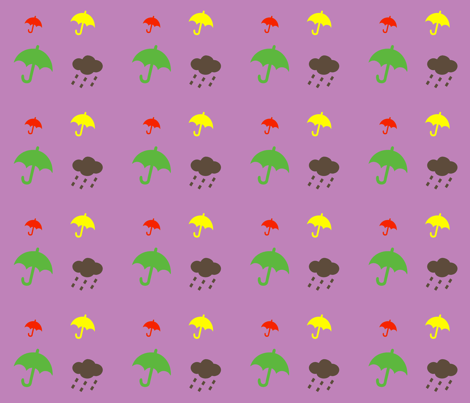 paraplyer-ch-ch fabric by snork on Spoonflower - custom fabric
