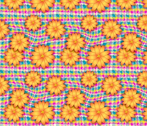 wiggles_n_blooms fabric by needlesongs on Spoonflower - custom fabric