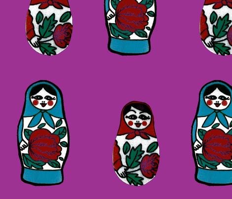 babuschka-ch1 fabric by snork on Spoonflower - custom fabric