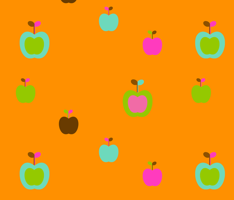 apples2 fabric by snork on Spoonflower - custom fabric