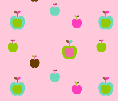 apples3 fabric by snork on Spoonflower - custom fabric