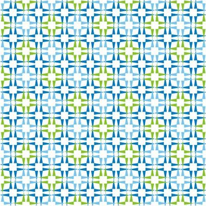 Pointy Squares Blues