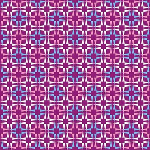 Pointy Squares Pinks