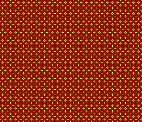 Harvest Collection - Four Point Stars-Red fabric by natalie on Spoonflower - custom fabric
