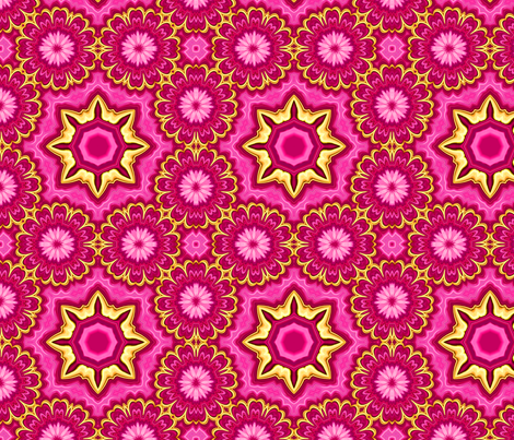 posey_ring_larger fabric by needlesongs on Spoonflower - custom fabric