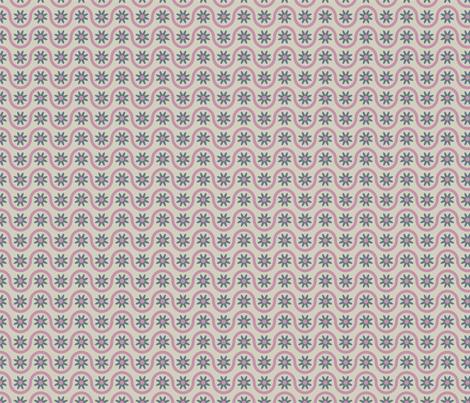 wavy flowers fabric by suziedesign on Spoonflower - custom fabric
