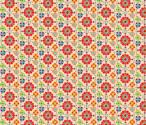 lovely_flowers fabric by snork on Spoonflower - custom fabric