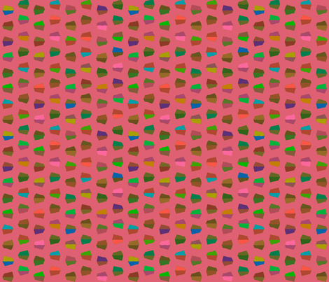 dark pink dots fabric by robinde on Spoonflower - custom fabric