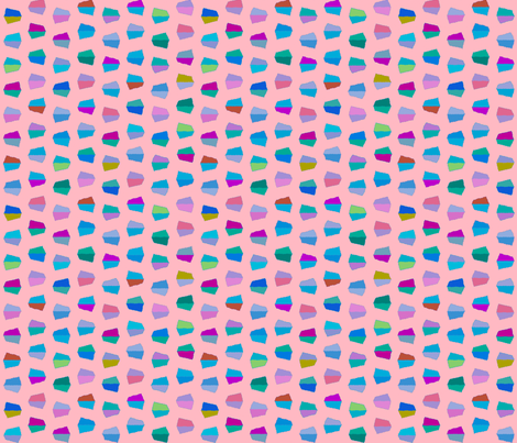 pale pink dots fabric by robinde on Spoonflower - custom fabric