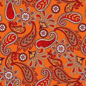 Orange_Paisley