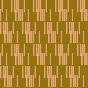 mod line - pink & brown