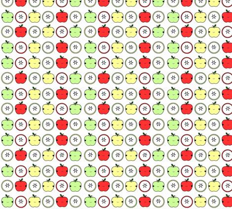 Sweet Apples fabric by geemarie on Spoonflower - custom fabric