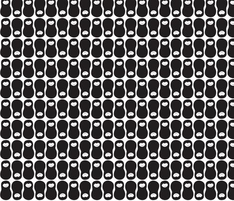 jordnöt vampire fabric by wildolive on Spoonflower - custom fabric