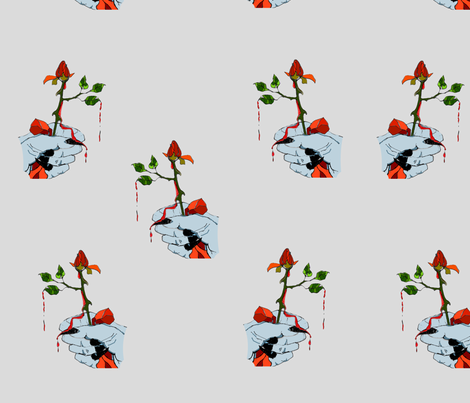 Halloween Thorns fabric by ginette on Spoonflower - custom fabric