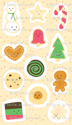 Cookies for Santa Ornament Panel