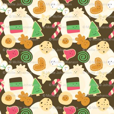 Mini Cookies for Santa