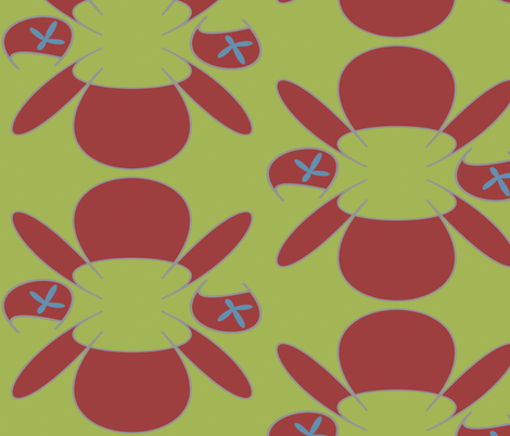 i left my purses by the sofas fabric by giolou on Spoonflower - custom fabric