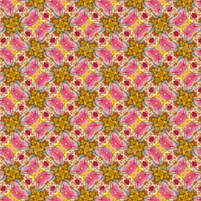Pattern with Pink