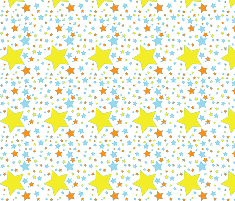 Starsjpeg fabric by birgitterosenkilde on Spoonflower - custom fabric