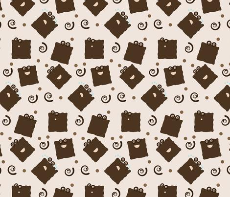 mr. yommie pattern fabric by sukro on Spoonflower - custom fabric