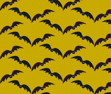 a bit batty fabric by giolou on Spoonflower - custom fabric