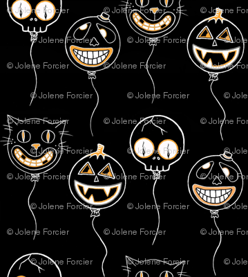 Spooky Balloons