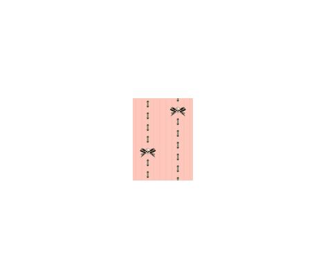 Pink Skull Pinstripe fabric by voodoorabbit on Spoonflower - custom fabric