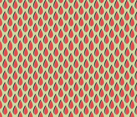 retro pattern fabric by suziedesign on Spoonflower - custom fabric