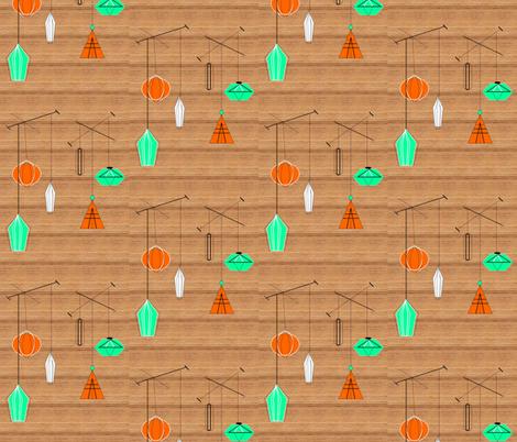 Eames Lamps-043 fabric by kkitwana on Spoonflower - custom fabric