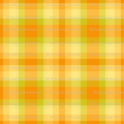 yellow green plaid