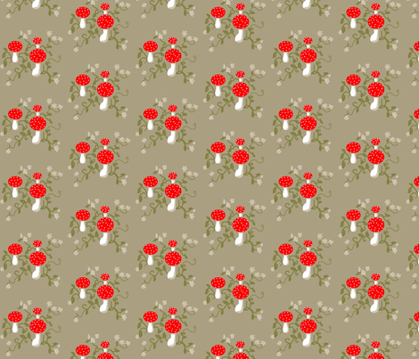 Forest Floor fabric by disgusted_cats on Spoonflower - custom fabric
