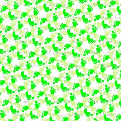 Flower-feet-greens