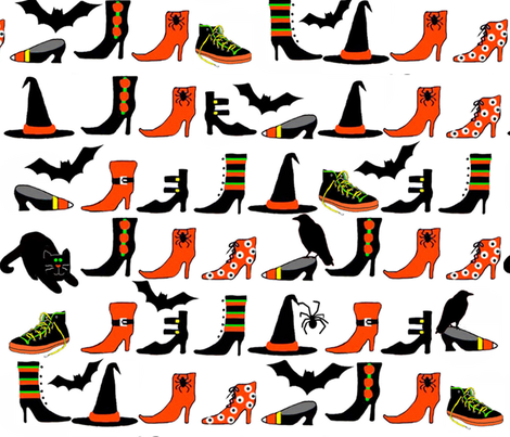 witches_closet fabric by connielou on Spoonflower - custom fabric