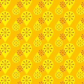 Yellow sixties drops