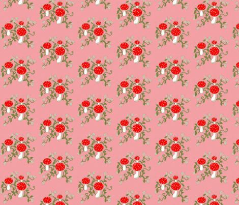 Forest Floor Rose fabric by disgusted_cats on Spoonflower - custom fabric