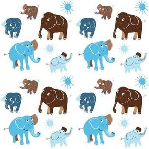 Elephant blå