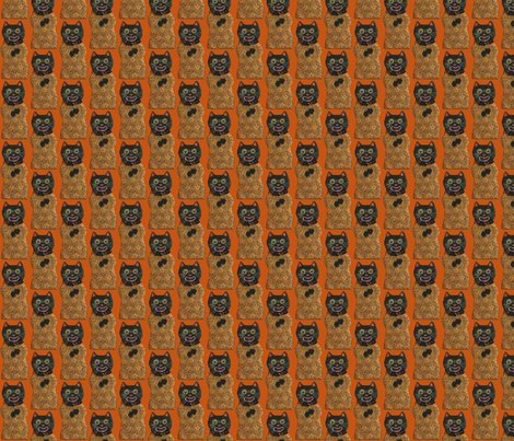 Wee Halloween Cat fabric by disgusted_cats on Spoonflower - custom fabric