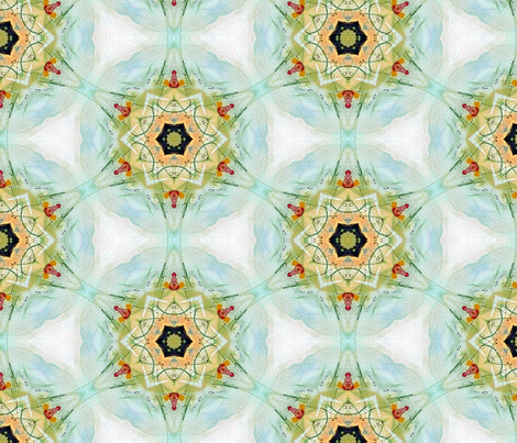 Madame Currie Pattern By Ginette (Basic & Mirror Repeat) fabric by ginette on Spoonflower - custom fabric
