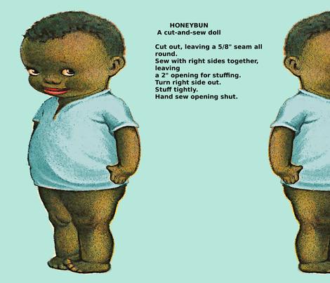 Honeybun Doll fabric by nalo_hopkinson on Spoonflower - custom fabric