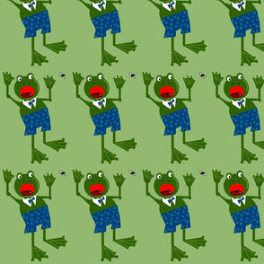 'Fraidy Frog