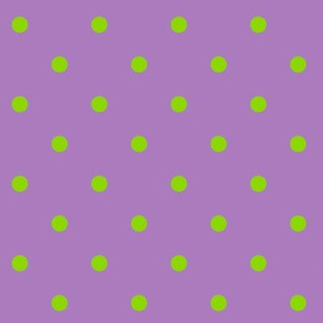 Spring Dot in the Lavender Colorway