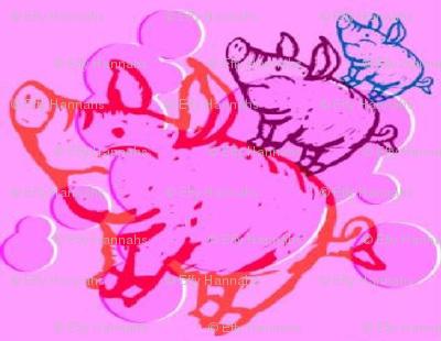 my three  pigs